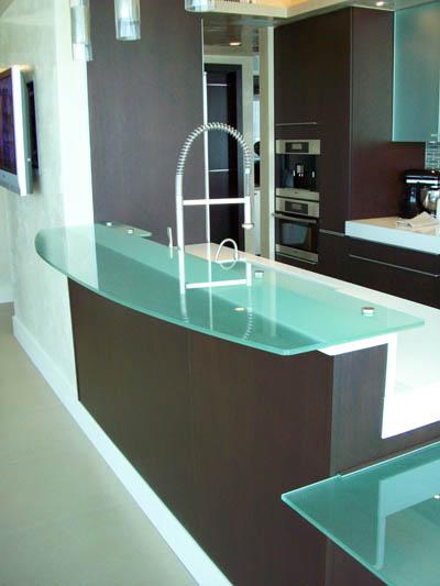 Encimeras de vidrio templado - Encimeras de cocina de cristal ...