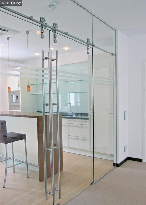 Puertas templadas cocina ejemplo2 - Puerta cocina cristal ...